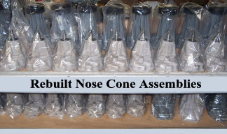 Nose Cone Assemblies Shelf